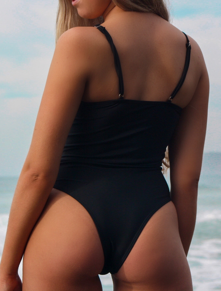 SAHARA ONE PIECE - BLACK