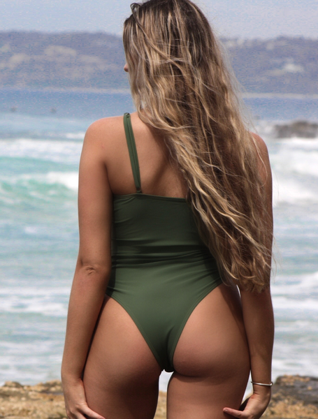 SAHARA ONE PIECE - OLIVE