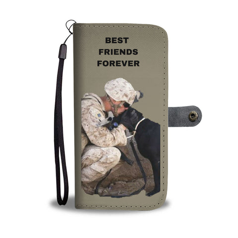 PET LOVERS WALLET PHONE CASE