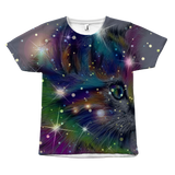 SHIRT-CAT LOVERS ALL OVER PRINT SHORT SLEEVE UNISEX TEE-4 designs-6 sizes