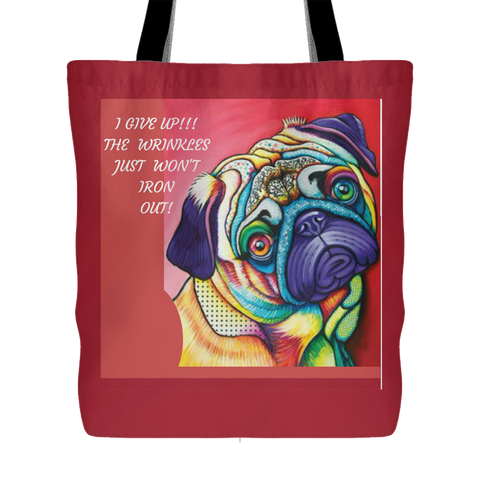 TOTE BAGS-DOG LOVERS-LOVABLE DOG TOTE BAGS -10 designs-10 sayings