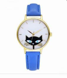 CAT LOVERS  QUARTZ WRISTWATCHES - 8 colors