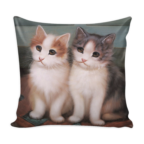 PILLOWS-CAT LOVERS- LOVABLE CAT PILLOWS -6 designs