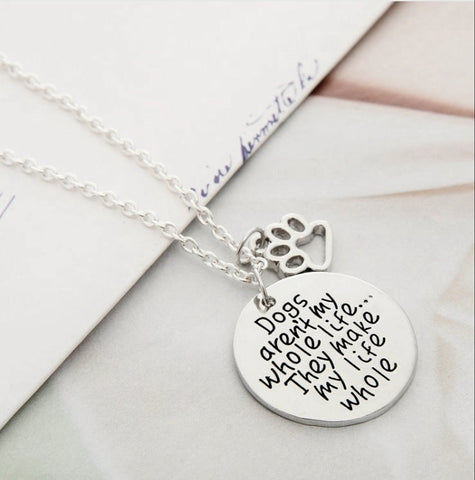 LOVE DOGS-NECKLACE-FREE SHIPPING