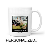 PET LOVERS PERSONALIZE 11OZ MUG- WHITE