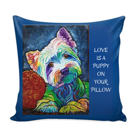 PILLOWS-DOG LOVERS- LOVABLE DOG PILLOWS -9 designs-9 sayings