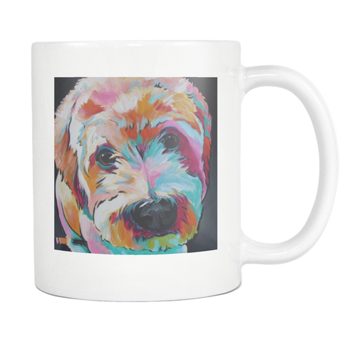 COFFEE MUG- DOG LOVERS- 11 OZ COFFEE MUG-10 designs