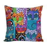 PILLOWS-CAT LOVERS- LOVABLE CAT PILLOWS -4 designs