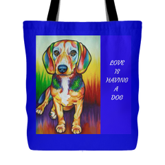 PET LOVERS TOTE BAGS
