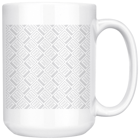PERSONALIZE 15OZ MUG- WHITE