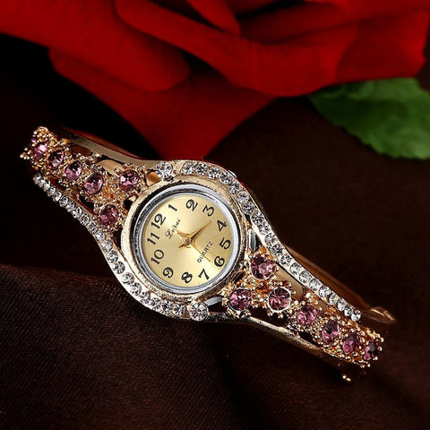 WOMEN'S QUARTZ BRACELET WATCHES- 11 colors