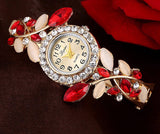 WOMEN'S QUARTZ BRACELET WATCHES- 5 colors