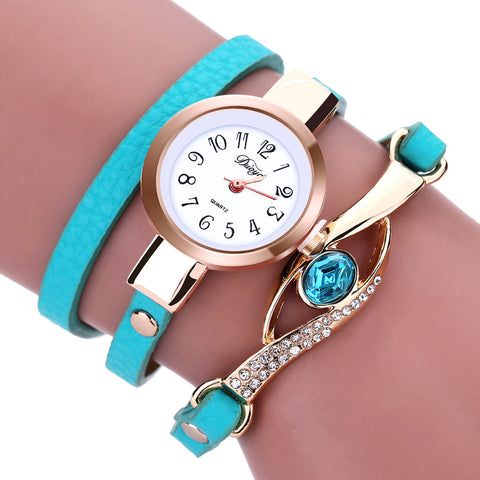 WOMEN'S QUARTZ BRACELET WATCH - 7 colors
