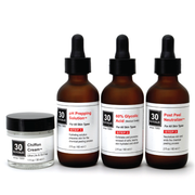 60% Glycolic Peel System for All Skin Types (including Keratosis, Psoriasis)