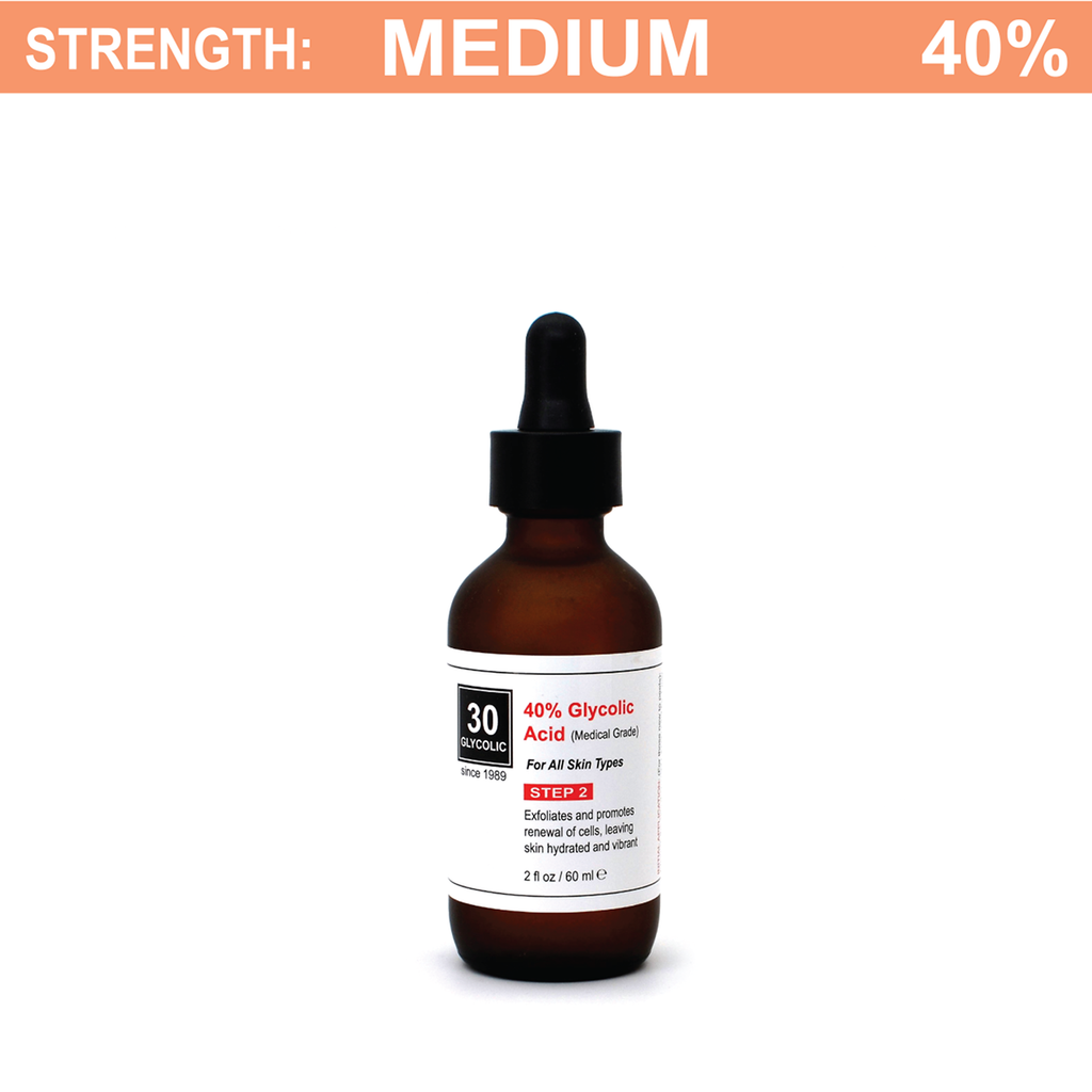 40% Medical-Grade Glycolic Acid