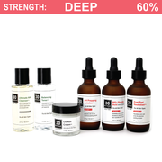 60% Deluxe Glycolic Peel System for Combo/Oily/Acne Skin