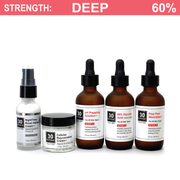 60% Glycolic Peel System for Acne Scar & Skin Discoloration