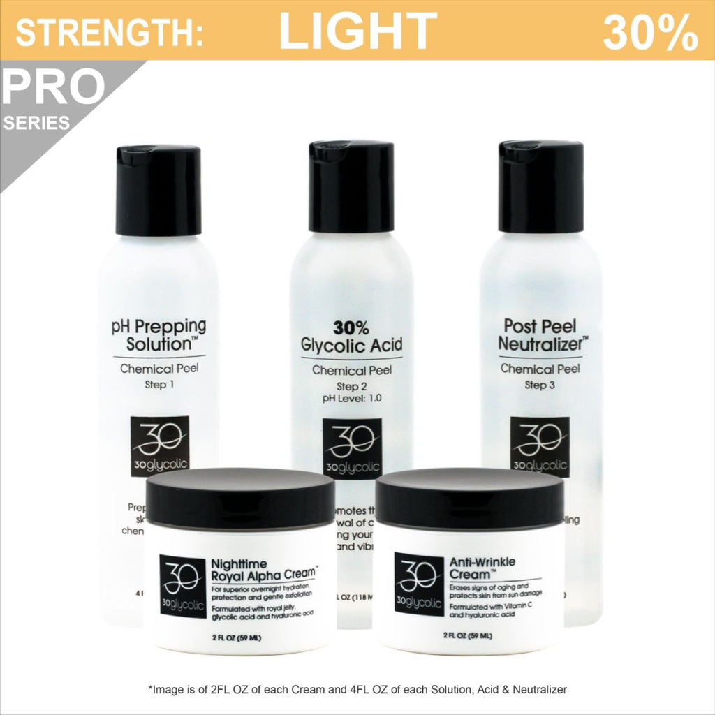 Pro-Series 30% Anti-Wrinkle Anti-Aging Glycolic Peel System