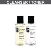 Ultimate AHA Cleanser/Toner Pair with 2% Glycolic Acid