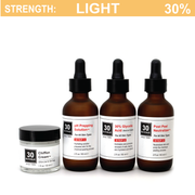 30% Glycolic Peel System for All Skin Types (including Keratosis, Psoriasis)