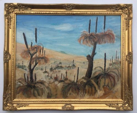 Framed Oil Painting Unsigned,Paintings - Hatherley Fine Art Gallery