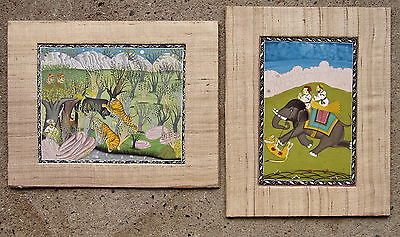 Pair Of Indian Watercolor Paintings,Other Art - Hatherley Fine Art Gallery