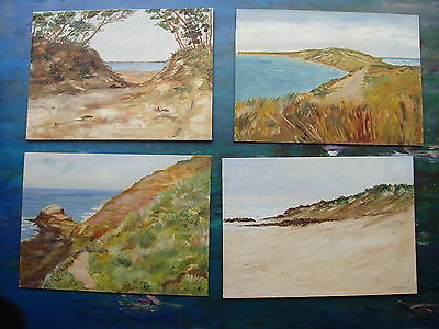 Set Of 4 Oil Paintings,Other Art - Hatherley Fine Art Gallery