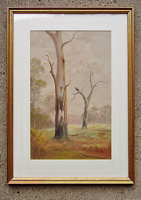 Illedgible signiture (Photo Added) Oil Painting Framed 1925 (2)