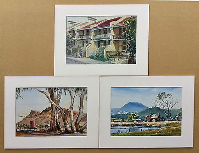 Set of 3 prints By Pelchen