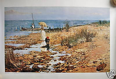 Frederick Mc Cubbin  Moyes Bay Beaumaris Print