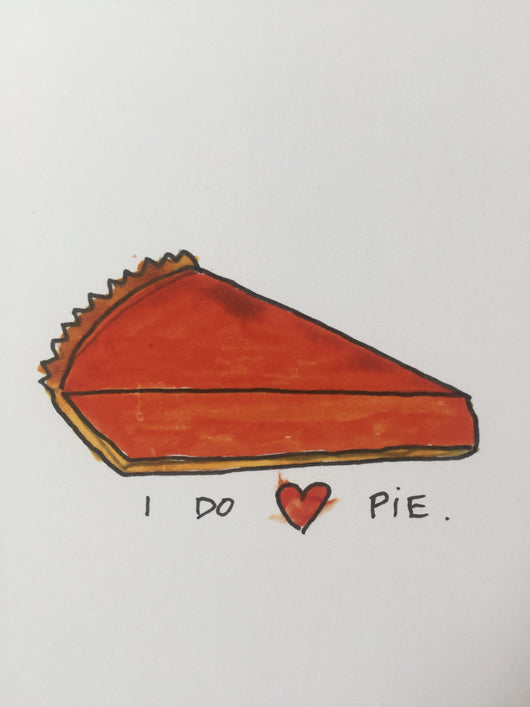 I Do (Heart) Pie