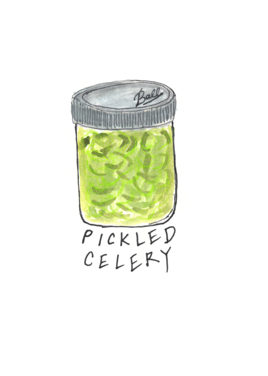 Pickled Celery