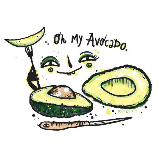 Oh My Avocado by BlackCatTips