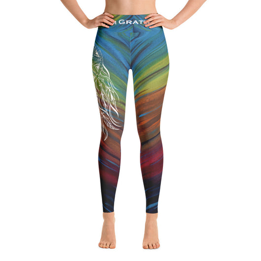 Gratitude Dream Catcher- Yoga Leggings
