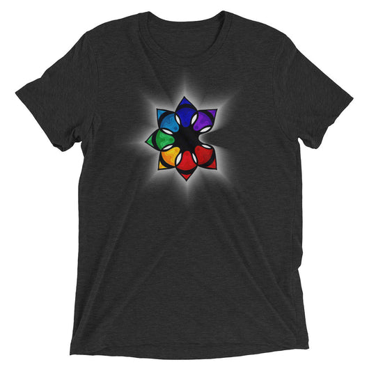 The Catalyst Flower- Unisex Short sleeve t-shirt