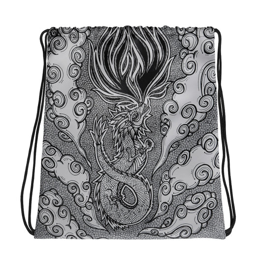 Lucky Dragon Drawstring bag