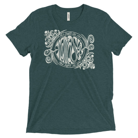 Namaste Light In Me- Unisex Short sleeve t-shirt