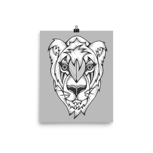 Lion Spirit Animal Print