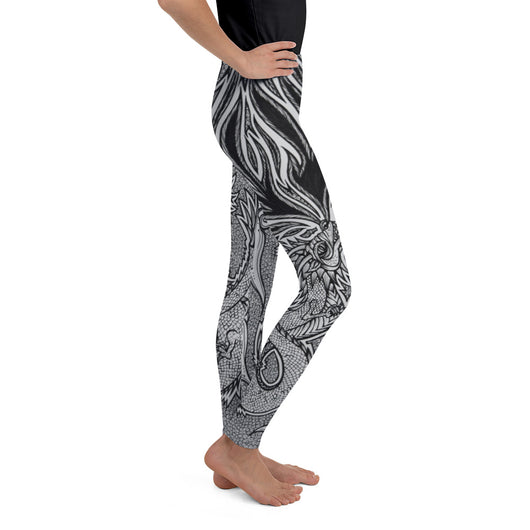Lucky Dragon Youth Leggings