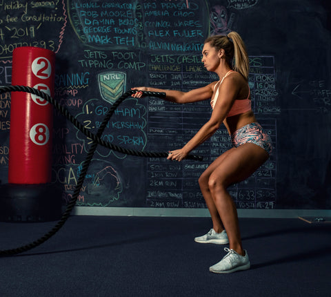 Cassie Grul HIIT workout