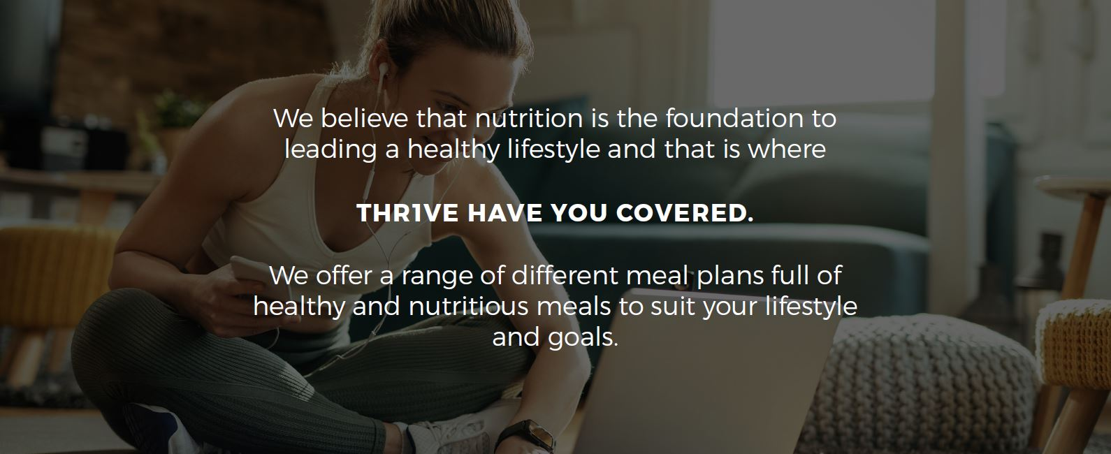 We believe that nutrition is the foundation to leading a healthy lifestyle2