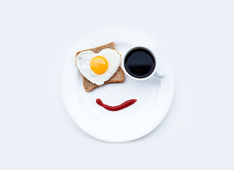 Breakfast smile