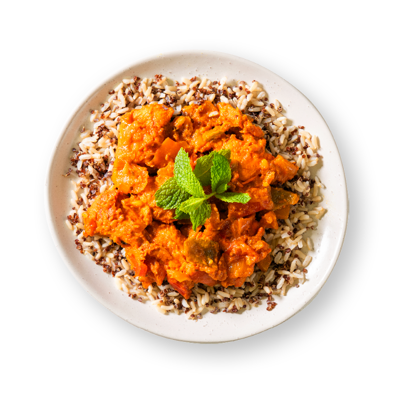 Chicken Tikka Masala with Brown Rice & Quinoa