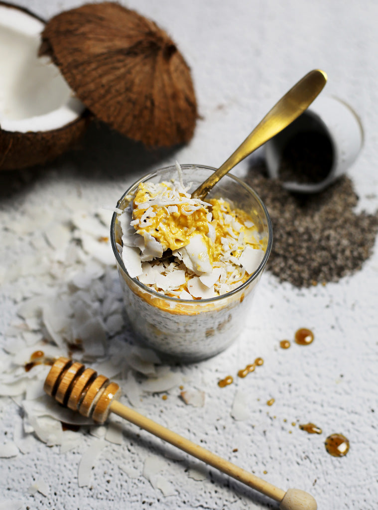 Raw Chia & Mango Pudding