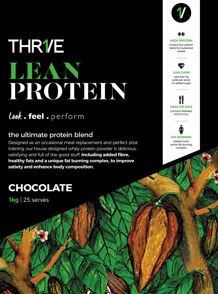 THR1VE Lean Protein 1kg Chocolate
