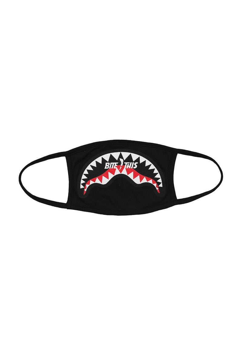 BITE THIS SHARK MOUTH FACE MASK ACCESSORIES BiteThis