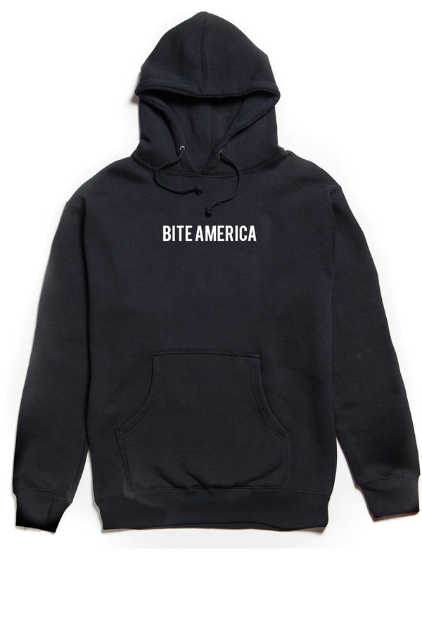 Bite America Hoodie OUTERWEAR JAUZ OFFICIAL S Black