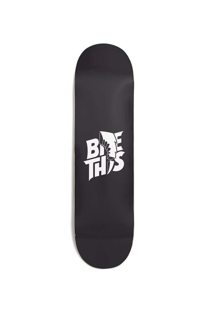 Bite This Stacked Skateboard Deck SKATE DECK BiteThis Black