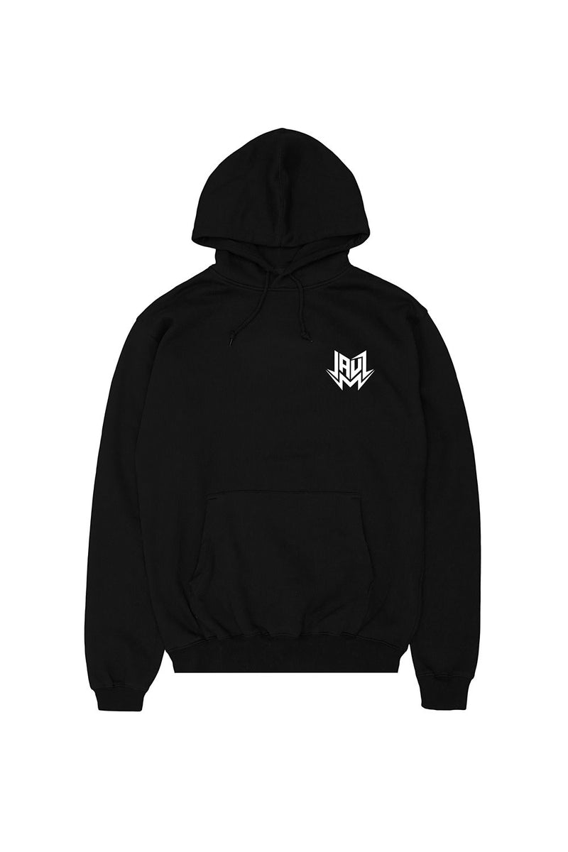 Jauz Shark Head Hoodie Hoodie JAUZ OFFICIAL S Black