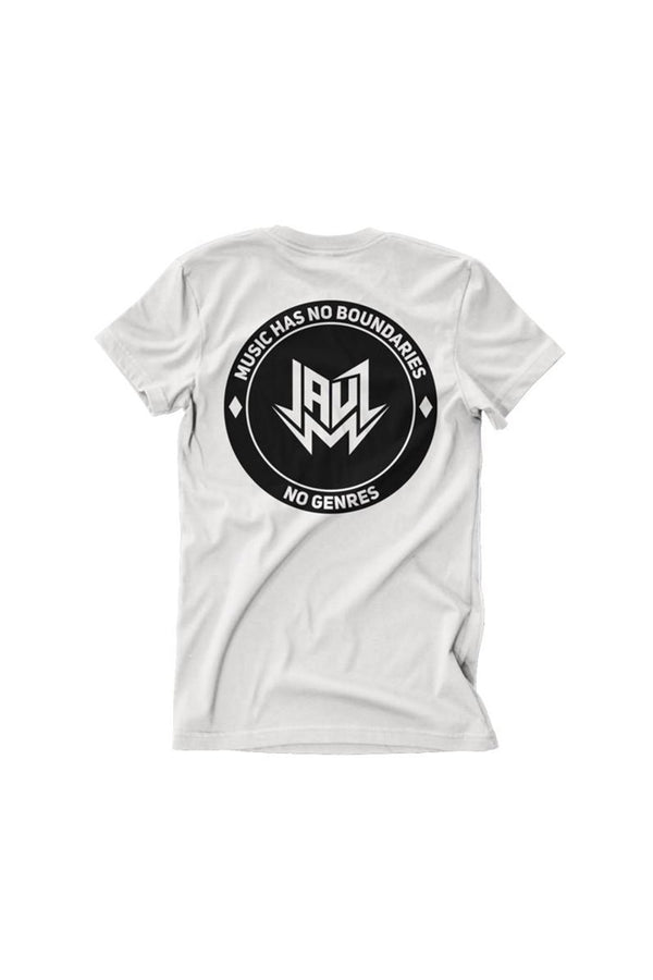 CIRCLE WHITE T-SHIRT JAUZ OFFICIAL